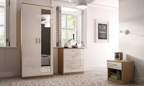 ThreePiece Bedroom Furniture Set Groupon Goods - Bedroom furniture in melbourne