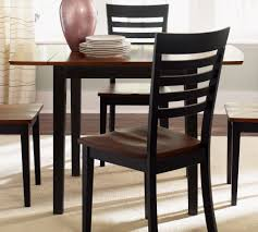 rectangular drop leaf dining table liberty furniture cafe collections black cherry rectangular drop