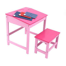 Wooden Kids Desks by Childrens Kids Wooden Study Home Work Writing Reading Table Desk