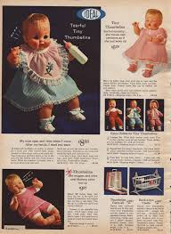 thumbelina doll 1964 tiny thumbelina dolls 1964 memories