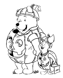 disney coloring pages disney halloween coloring pages with winnie
