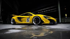 mclaren p1 custom paint job mclaren 650s transformed into mini p1 gtr thanks to liberty walk