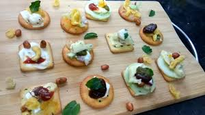 biscuits canapes apetizer party starter tea time snack youtube