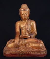 burmese buddha statues and the history their origins