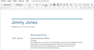 Best Resume Tools by Resume On Google Docs Best Business Template