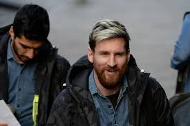 Lionel Messi Halloween Costume Lionel Messi Arrive Glasgow Barcelona Prepare