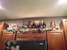 Design Ideas For Kitchen Cabinets Wine Themed Kitchen Decor Livegoody