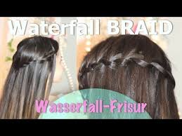 Frisuren Lange Haare Wasserfall by Wasserfall Frisur I Einfache Anleitung