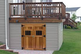Plans For Garden Sheds by Panofish Building A Shed Under A Deck