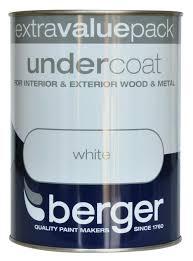 berger interior and exterior undercoat