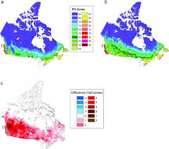 Map Of Canada And Usa by Climate Change Brings New Crops To Canadian Farms Climate Central