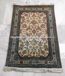 Handmade Rugs From India Wholesale Beautiful Hand Knotted Rugs Handmade Pure Silk Carpet