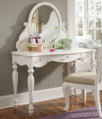 Bathroom Vanity With Stool Three Fold Mirror White Vanity Table With Mirror Beautiful Stools