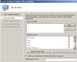 modifying existing ad rms right policy templates u2013 the man in the