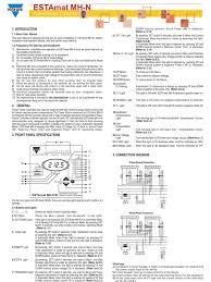 mh6n mh12n manual ac power capacitor