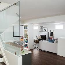 basement staircase wall design ideas