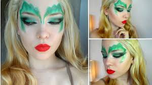 poison ivy makeup tutorial halloween costume ideas for girls