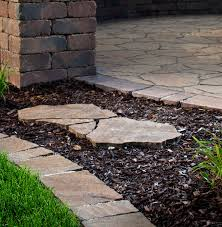 landscape edging 7 ideas tips to enhance your garden paver stone