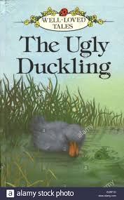 1980s uk the ugly duckling book cover stock photo royalty free