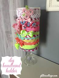 how to make a headband holder headband holder cheap easy diy glitter cottage