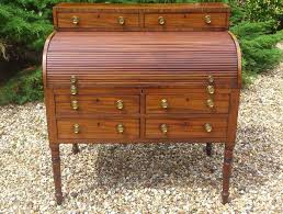 Antique Writing Table George Iii Period Antique Tambour Fronted Writing Desk At 1stdibs
