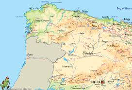 Map Of Seville Spain by Spain