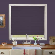 galaxy solar blackout grape perfect fit pleated blind direct blinds