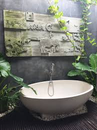 my outdoor bathroom in bali balinese bathroom ideas pinterest