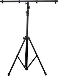 light stand adj american dj economy light stand 9 foot with crossbar pssl