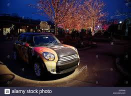 Lincoln Park Zoo Holiday Lights by Mini Cooper Countryman On Display Lincoln Park Christmas Zoo