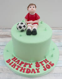 football cake football cake topper sugar footballer model sugarpaste