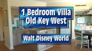 Treehouse Villas Disney Floor Plan by Old Key West One Bedroom Villa Tour At Walt Disney World Youtube
