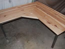 repurposed wood desk real wooden furniture