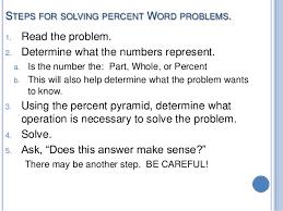 percent ratios proportions fraction