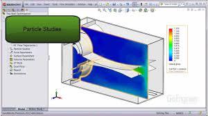 solidworks flow simulation u2013 particle studies youtube