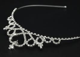 handmade hair accessories child princess crown with sparkling rhinestone bridal