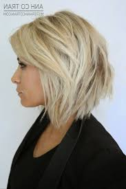 messy layered stacked bob hairstyle picture magz