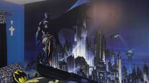 batman wall murals for bedrooms lanierhome batman bedroom wallpaper with nice blue theme