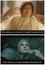 Frodo Meme - 146 hours how frodo feels about daylight savings