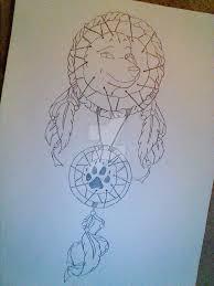 wolf catcher design 2 by temperedtattoos on deviantart