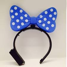 cheap headbands cheap purple magic light up minnie mouse ears headband flash light