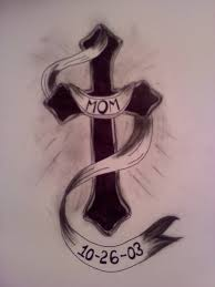 cross banner tattoo art and designs page 3