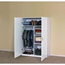 home depot wardrobe cabinet closetmaid 48 in multi purpose wardrobe cabinet in white wardrobe
