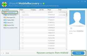 recover from android how to recover deleted contacts on android
