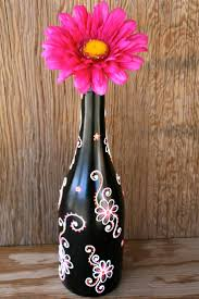 Wine Bottle Halloween Crafts by 360 Best Painting Images On Pinterest Glass Bottles Wine Bottle