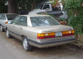1980 audi 5000 for sale curbside 1983 1991 audi 5000 100 c3 a picture book