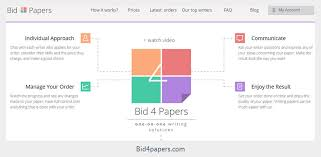 bid 4 it bid4papers review prices discounts promo codes