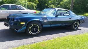 blue 1979 camaro 1979 camaro z28 all stock and original paint onlt 38800 mi used