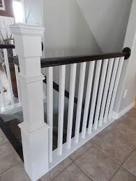 Painted Banister Ideas 16 Best Stairs Images On Pinterest Stairs Basement Ideas And