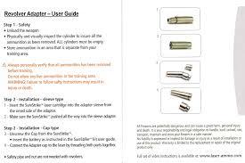 manuals laser ammo